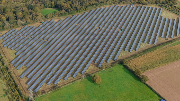 Cadland Estate Solar farm