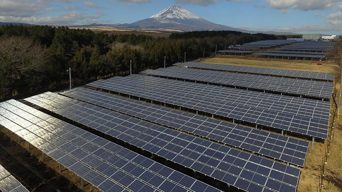 御殿場1・御殿場2 太陽光発電所
